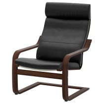 Кресло ПОЭНГ черный артикуль № 798.608.03 в наличии. Online магазин IKEA РБ. Недорогая доставка и соборка.