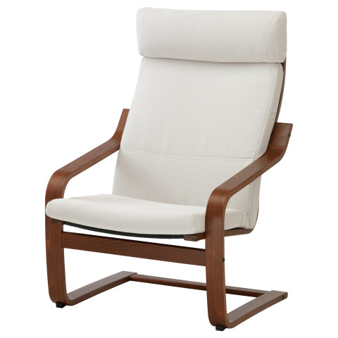 Кресло ПОЭНГ белый артикуль № 990.901.91 в наличии. Онлайн магазин IKEA РБ. Недорогая доставка и монтаж.