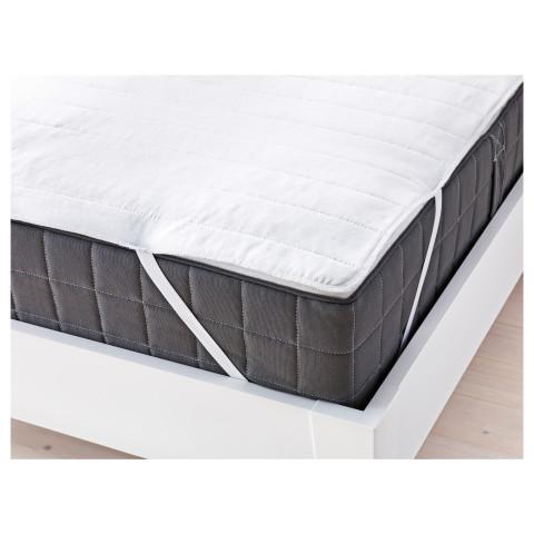 Наматрасник ЭНГСВИДЕ белый артикуль № 802.810.44 в наличии. Online магазин IKEA Минск. Недорогая доставка и соборка.
