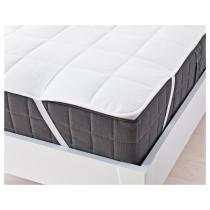 Наматрасник КУНГСМИНТА белый артикуль № 602.555.50 в наличии. Интернет каталог IKEA РБ. Быстрая доставка и монтаж.