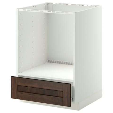 Напольный шкаф для духовки, с ящиком МЕТОД / ФОРВАРА белый артикуль № 290.269.19 в наличии. Онлайн сайт IKEA Беларусь. Быстрая доставка и монтаж.