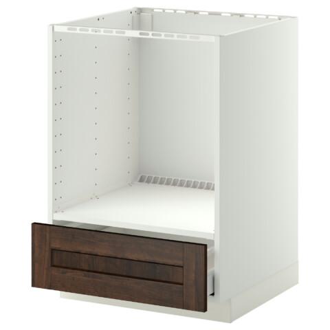 Напольный шкаф для духовки, с ящиком МЕТОД / МАКСИМЕРА белый артикуль № 491.099.80 в наличии. Онлайн сайт IKEA Минск. Недорогая доставка и установка.