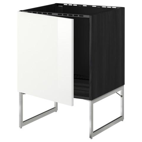 Напольный шкаф для раковины МЕТОД черный артикуль № 790.239.56 в наличии. Онлайн магазин IKEA Минск. Быстрая доставка и соборка.