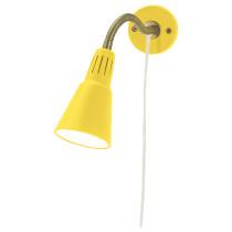Настенный софит, лампа с зажимом КВАРТ желтый артикуль № 801.524.19 в наличии. Онлайн каталог IKEA Беларусь. Недорогая доставка и соборка.