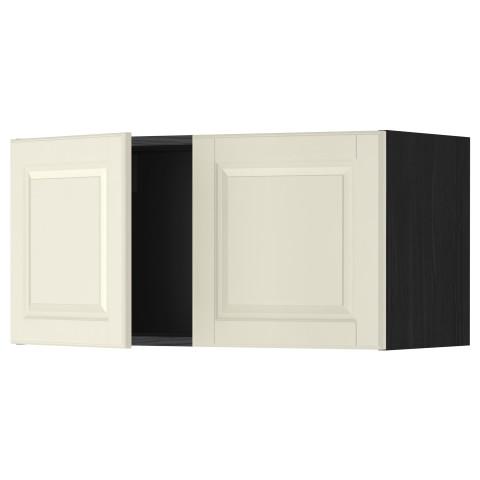 Навесной шкаф с 2 дверями МЕТОД черный артикуль № 499.178.01 в наличии. Интернет сайт ИКЕА РБ. Быстрая доставка и монтаж.