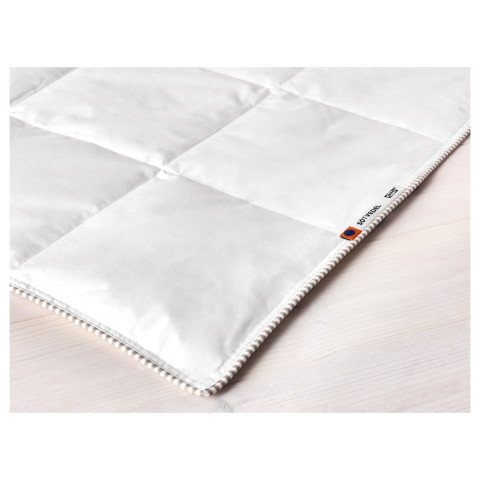 Одеяло прохладное СОТВЕДЕЛЬ белый артикуль № 802.715.73 в наличии. Онлайн каталог IKEA Республика Беларусь. Недорогая доставка и установка.