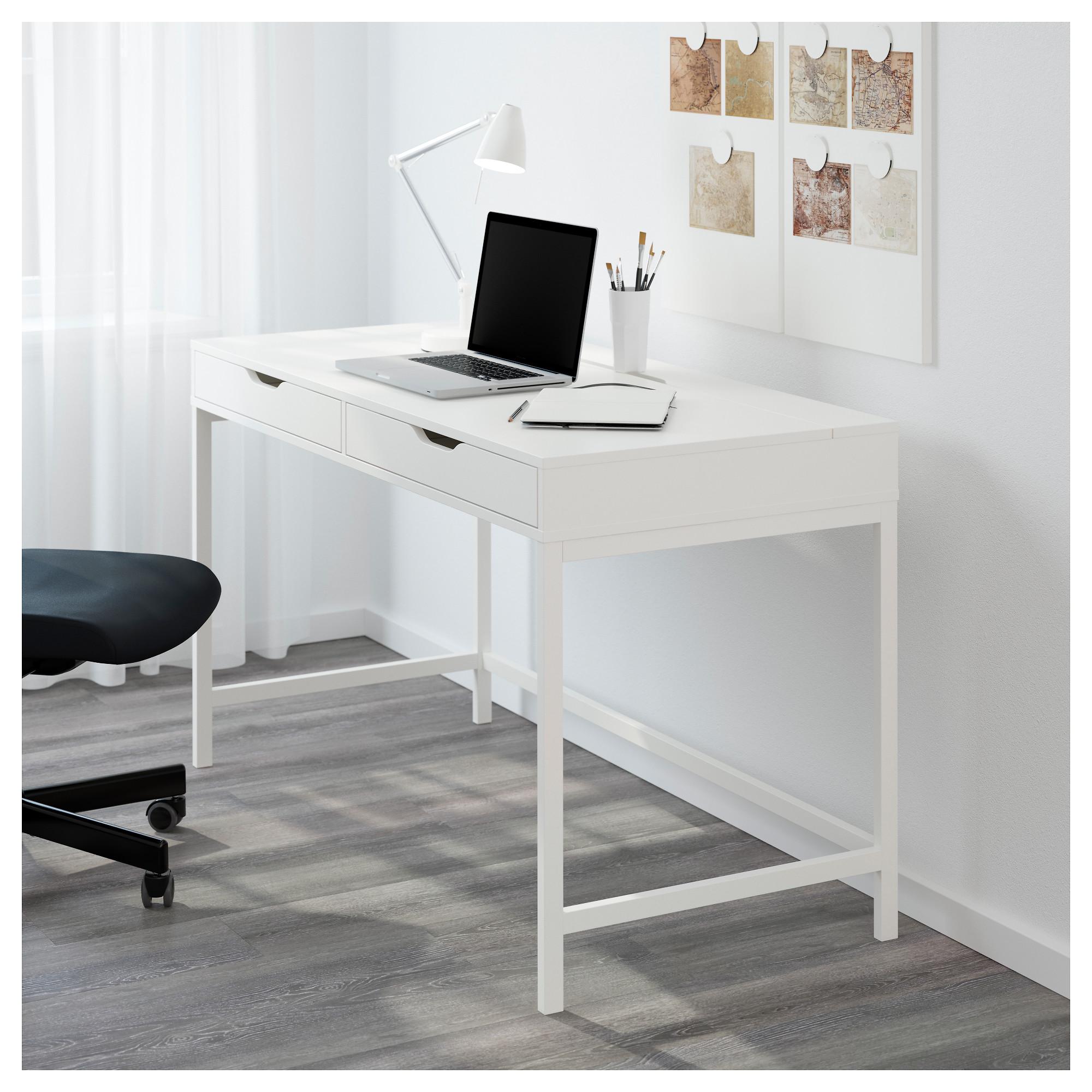 Купить Письменный стол АЛЕКС белый в Ikea Минск