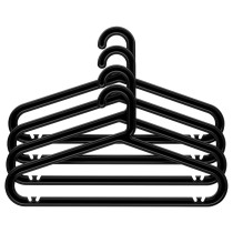Плечики, для дома/улицы БАГИС черный артикуль № 201.970.86 в наличии. Интернет магазин IKEA РБ. Недорогая доставка и монтаж.