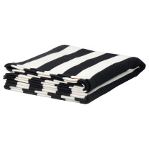 Плед ЭЙВОР черный/белый артикуль № 102.121.29 в наличии. Online каталог IKEA РБ. Недорогая доставка и монтаж.