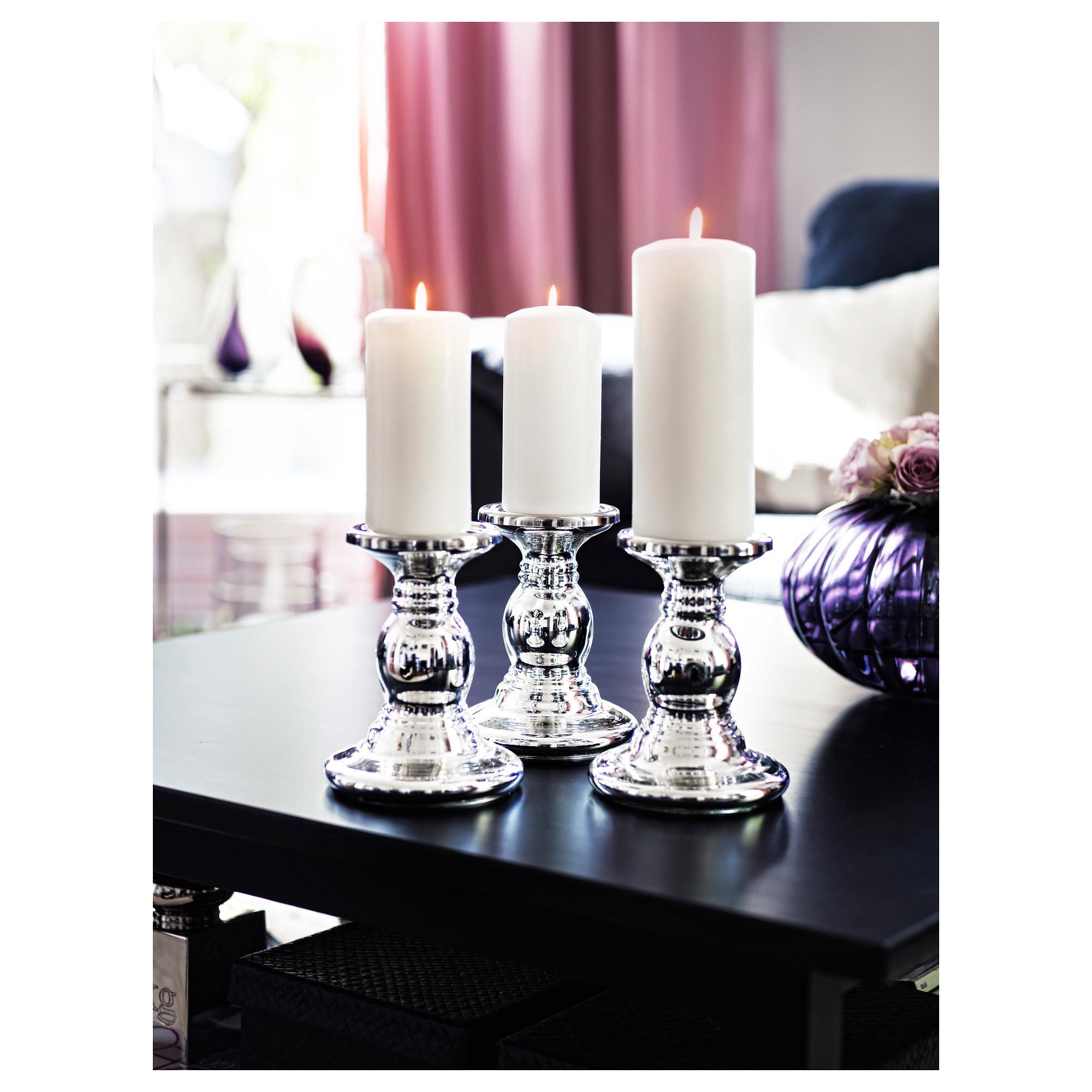 Kerzenständer Silber Ikea купить подсвечник для формовой свечи шиммер стекло серебристый в