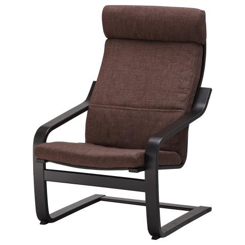 Подушка-сиденье на кресло ПОЭНГ коричневый артикуль № 802.579.11 в наличии. Онлайн каталог ИКЕА Беларусь. Быстрая доставка и установка.