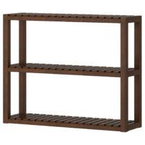 Полка навесная МОЛЬГЕР темно-коричневый артикуль № 002.423.58 в наличии. Интернет каталог IKEA РБ. Недорогая доставка и монтаж.