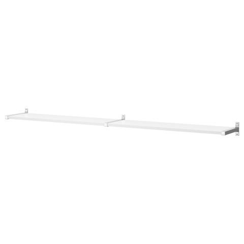 Полочный модуль, навесной ЭКБИ ЕРПЕН / ЭКБИ БЬЕРНУМ белый артикуль № 790.024.59 в наличии. Online сайт IKEA РБ. Недорогая доставка и соборка.
