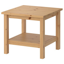 Придиванный столик ХЕМНЭС светло-коричневый артикуль № 802.821.52 в наличии. Интернет сайт IKEA Республика Беларусь. Быстрая доставка и соборка.