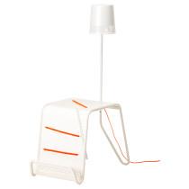 Придиванный столик с подсветкой ИКЕА ПС 2014 белый артикуль № 202.636.46 в наличии. Online сайт ИКЕА РБ. Недорогая доставка и установка.