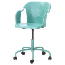 Рабочий стул РОБЕРГЕТ бирюзовый артикуль № 702.790.70 в наличии. Интернет сайт IKEA РБ. Быстрая доставка и установка.