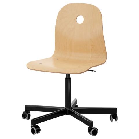 Рабочий стул ВОГСБЕРГ / СПОРРЕН черный артикуль № 890.066.64 в наличии. Онлайн сайт IKEA РБ. Быстрая доставка и соборка.