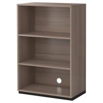 Секция полок ГАЛАНТ серый артикуль № 602.064.61 в наличии. Интернет каталог IKEA Республика Беларусь. Недорогая доставка и установка.