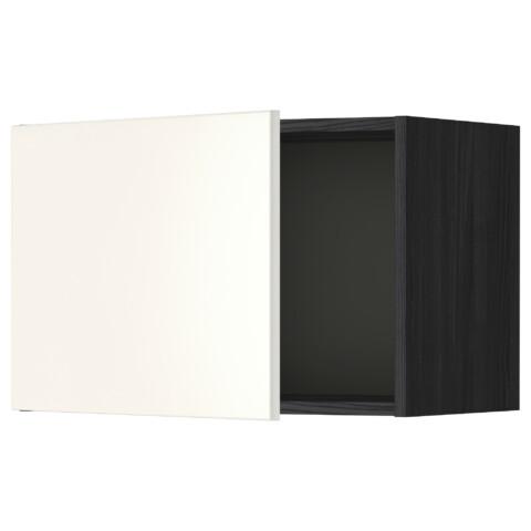 Шкаф навесной МЕТОД черный артикуль № 499.178.82 в наличии. Online сайт IKEA Беларусь. Недорогая доставка и соборка.