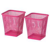 Стакан для ручек ДОКУМЕНТ розовый артикуль № 802.194.72 в наличии. Интернет магазин ИКЕА Минск. Недорогая доставка и установка.