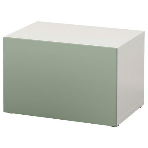 Стеллаж с дверью БЕСТО зеленый артикуль № 090.568.65 в наличии. Онлайн сайт IKEA РБ. Быстрая доставка и монтаж.