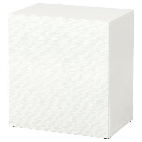 Стеллаж с дверью БЕСТО белый артикуль № 190.466.92 в наличии. Online магазин IKEA Республика Беларусь. Недорогая доставка и монтаж.