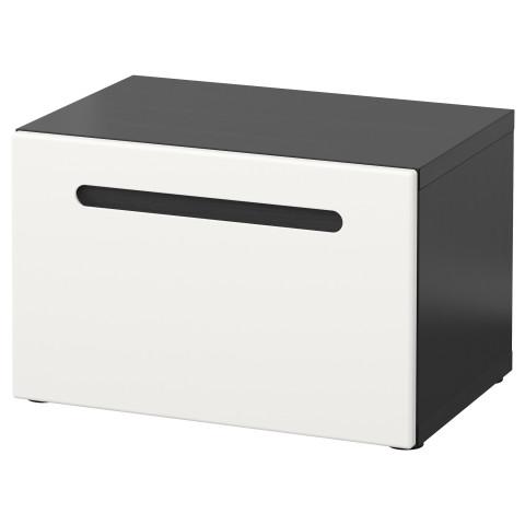 Стеллаж с дверью БЕСТО белый артикуль № 291.247.93 в наличии. Онлайн сайт IKEA Беларусь. Быстрая доставка и соборка.
