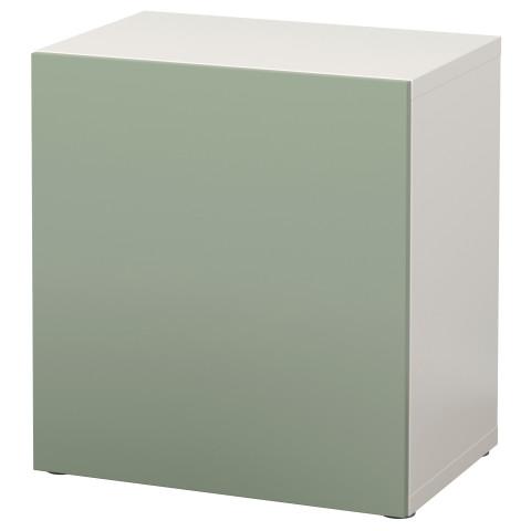 Стеллаж с дверью БЕСТО зеленый артикуль № 490.568.68 в наличии. Интернет сайт IKEA Беларусь. Быстрая доставка и установка.