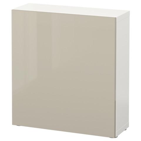 Стеллаж с дверью БЕСТО белый артикуль № 590.468.69 в наличии. Online каталог IKEA РБ. Недорогая доставка и установка.