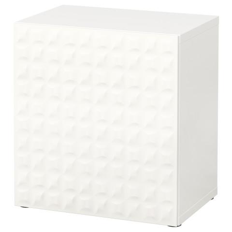 Стеллаж с дверью БЕСТО белый артикуль № 790.466.89 в наличии. Online магазин IKEA Минск. Недорогая доставка и соборка.