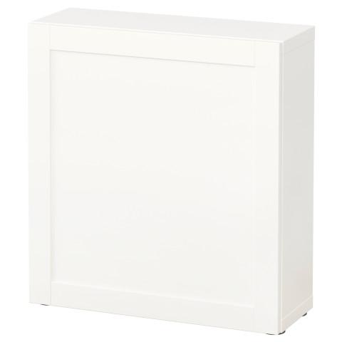 Стеллаж с дверью БЕСТО белый артикуль № 790.468.25 в наличии. Онлайн каталог IKEA Беларусь. Быстрая доставка и соборка.