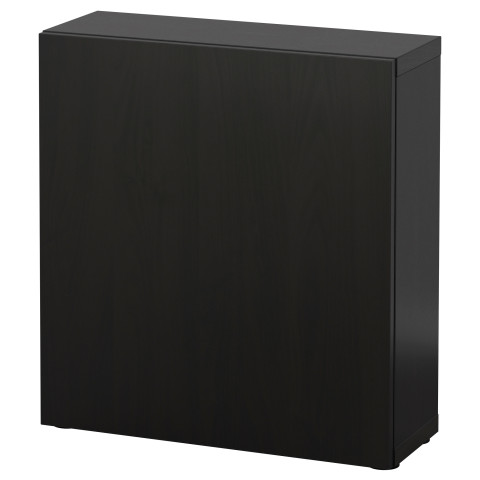Стеллаж с дверью БЕСТО артикуль № 890.468.39 в наличии. Интернет магазин IKEA Беларусь. Быстрая доставка и установка.