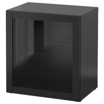Стеллаж со стеклянной дверью БЕСТО артикуль № 190.476.44 в наличии. Online сайт IKEA Минск. Недорогая доставка и установка.