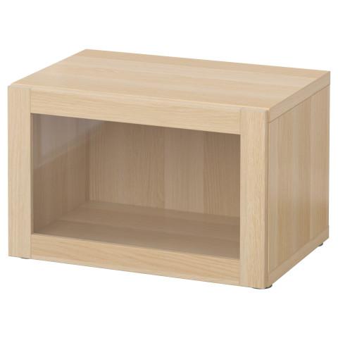 Стеллаж со стеклянной дверью БЕСТО артикуль № 790.476.41 в наличии. Online магазин IKEA Беларусь. Быстрая доставка и соборка.