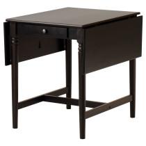 Стол c откидными полами ИНГАТОРП черно-коричневый артикуль № 802.214.27 в наличии. Онлайн магазин IKEA Минск. Недорогая доставка и монтаж.