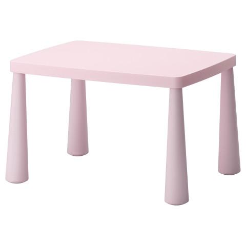 Стол детский МАММУТ светло-розовый артикуль № 402.675.68 в наличии. Интернет магазин IKEA РБ. Быстрая доставка и соборка.