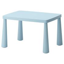 Стол детский МАММУТ голубой артикуль № 802.675.66 в наличии. Онлайн сайт ИКЕА Минск. Недорогая доставка и соборка.