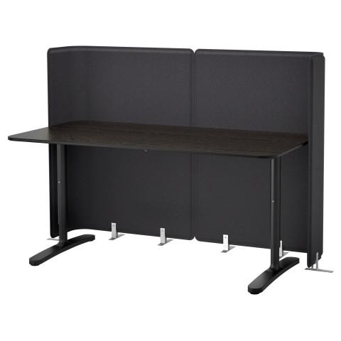 Стол для приемной БЕКАНТ черный артикуль № 790.469.86 в наличии. Online магазин IKEA Минск. Быстрая доставка и соборка.