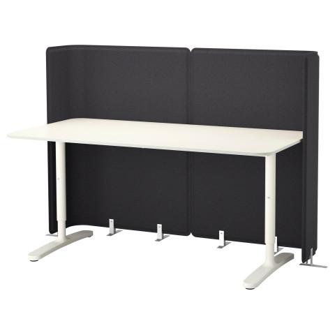Стол для приемной БЕКАНТ белый артикуль № 790.469.91 в наличии. Онлайн магазин IKEA Беларусь. Быстрая доставка и установка.