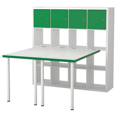 Стол, комбинация КАЛЛАКС белый артикуль № 291.230.53 в наличии. Интернет каталог IKEA Беларусь. Быстрая доставка и соборка.