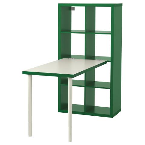 Стол, комбинация КАЛЛАКС бел/зелен артикуль № 591.230.42 в наличии. Интернет каталог ИКЕА РБ. Быстрая доставка и монтаж.