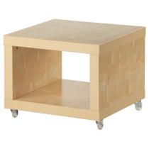 Стол приставной на колесах ЛАКК артикуль № 101.984.11 в наличии. Интернет сайт IKEA Беларусь. Быстрая доставка и монтаж.