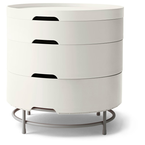 Столик с отделениями для хранения ИКЕА ПС 2014 белый артикуль № 402.658.71 в наличии. Online каталог IKEA РБ. Быстрая доставка и монтаж.