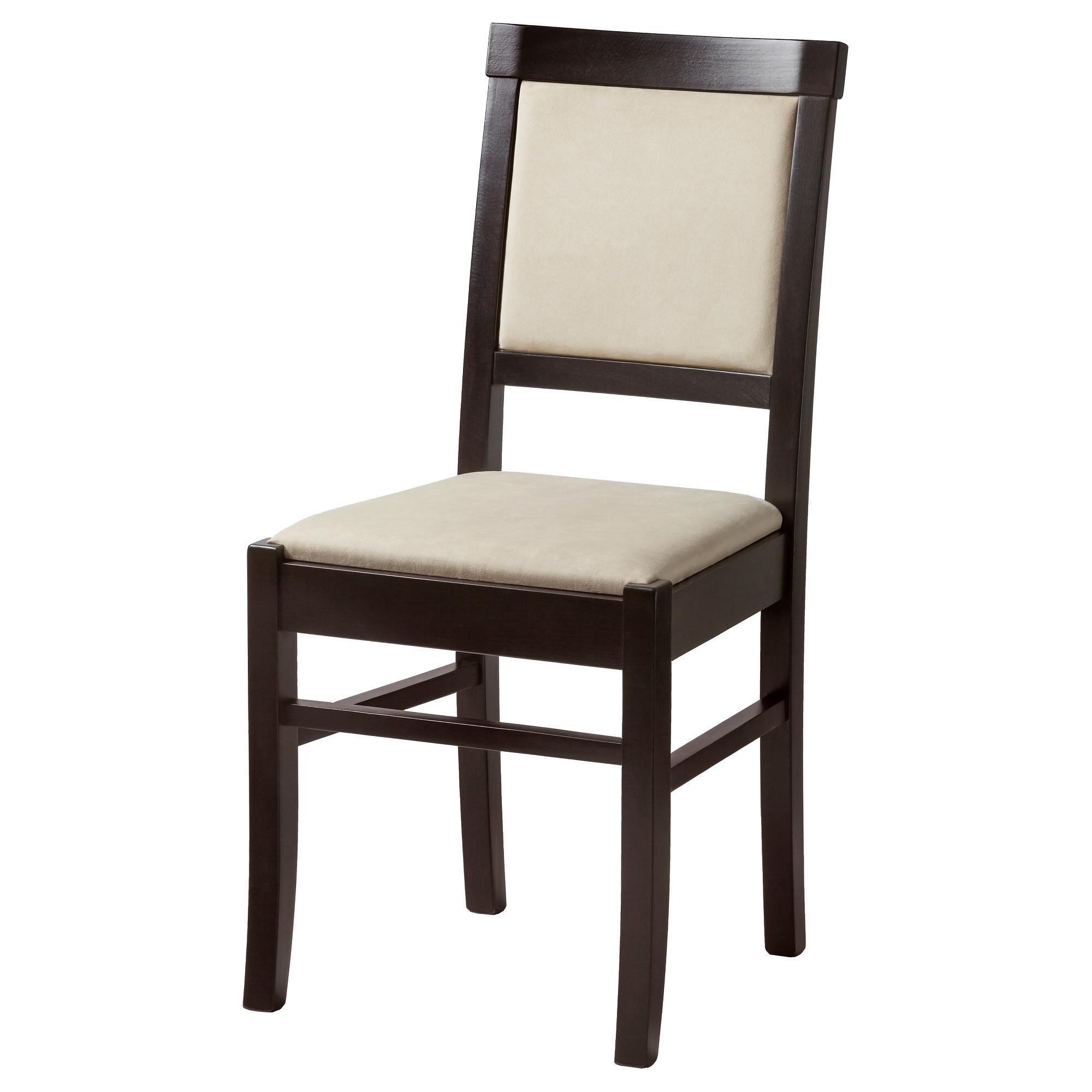 купить стул альгусторп бук черно коричневый естественныйбежевый в