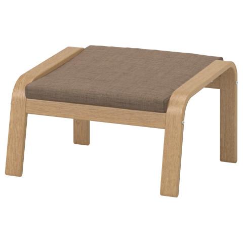 Табурет для ног ПОЭНГ коричневый артикуль № 090.108.63 в наличии. Онлайн сайт IKEA Минск. Недорогая доставка и установка.