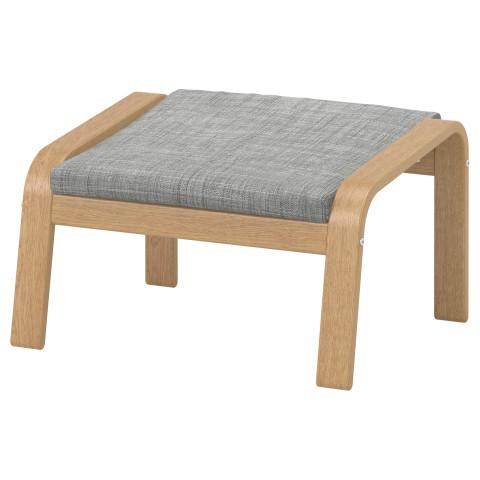 Табурет для ног ПОЭНГ серый артикуль № 190.109.14 в наличии. Онлайн каталог IKEA Беларусь. Быстрая доставка и монтаж.