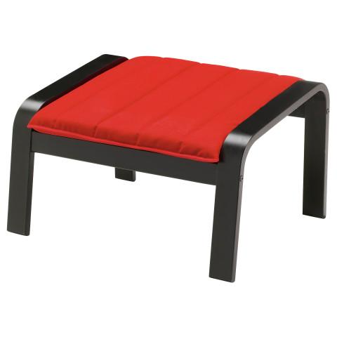 Табурет для ног ПОЭНГ красный артикуль № 191.257.12 в наличии. Онлайн каталог IKEA РБ. Быстрая доставка и монтаж.