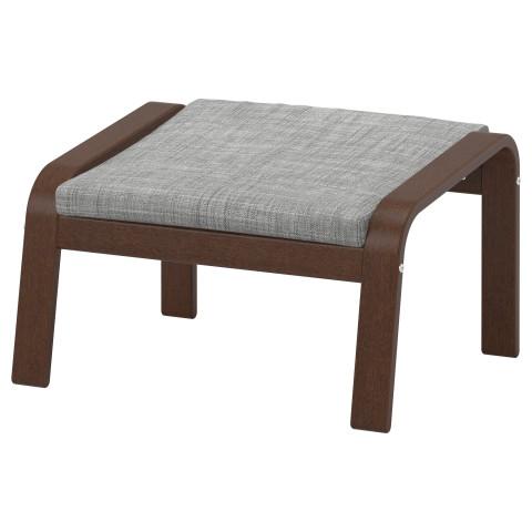 Табурет для ног ПОЭНГ серый артикуль № 390.109.08 в наличии. Интернет каталог IKEA Минск. Недорогая доставка и монтаж.