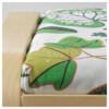 Табурет для ног ПОЭНГ зеленый артикуль № 590.904.71 в наличии. Интернет каталог IKEA РБ. Быстрая доставка и соборка.