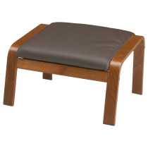 Табурет для ног ПОЭНГ темно-коричневый артикуль № 998.291.14 в наличии. Онлайн сайт IKEA Беларусь. Недорогая доставка и соборка.